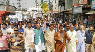 নিরাপদ, সাম্য ও সম্প্রীতির শহরে পরিণত করবো: ডা. শাহাদাত