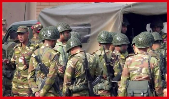 মাঠে নেমেছে সেনাবাহিনী