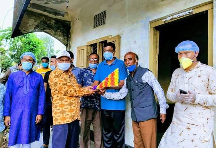 রামগড় প্রেসক্লাব পরিদর্শনে কুজেন্দ্র লাল ত্রিপুরা এমপি