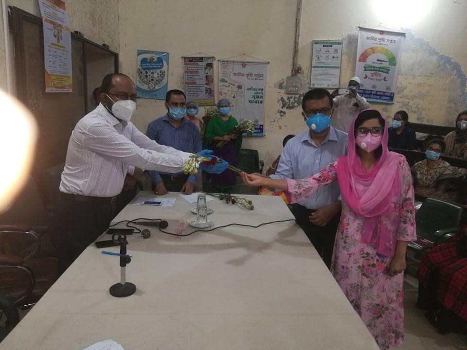 নবাগত ৭১ জন চিকিৎসককে বরণ করলো চট্টগ্রাম সিভিল সার্জন