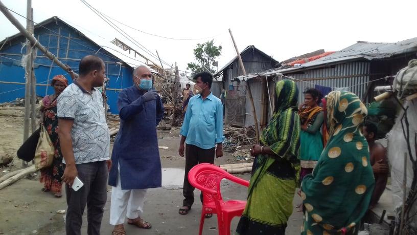 করোনা পরিস্থিতিতে কর্মহীন হয়ে পড়া জেলারা মানবেতর জীবনযাপন করছে: খোকন চৌধুরী
