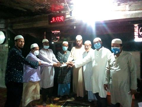 চন্দনপুরা হাজী আব্দুল হামিদ জামে মসজিদ উন্নয়নে শিক্ষা উপমন্ত্রীর অনুদান প্রদান