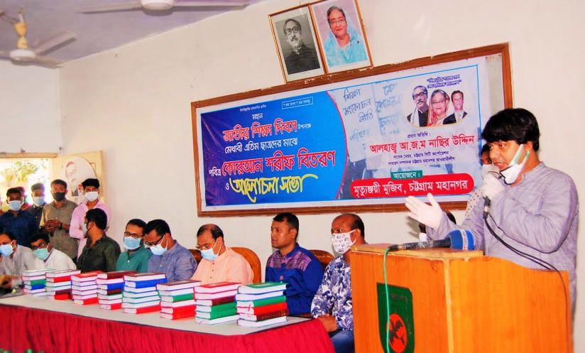 লুটেরা রুখতে সামরিক-বেসামরিক শক্তিকে আহ্বান জানান বঙ্গবন্ধু: রিয়াজ হায়দার চৌধুরী