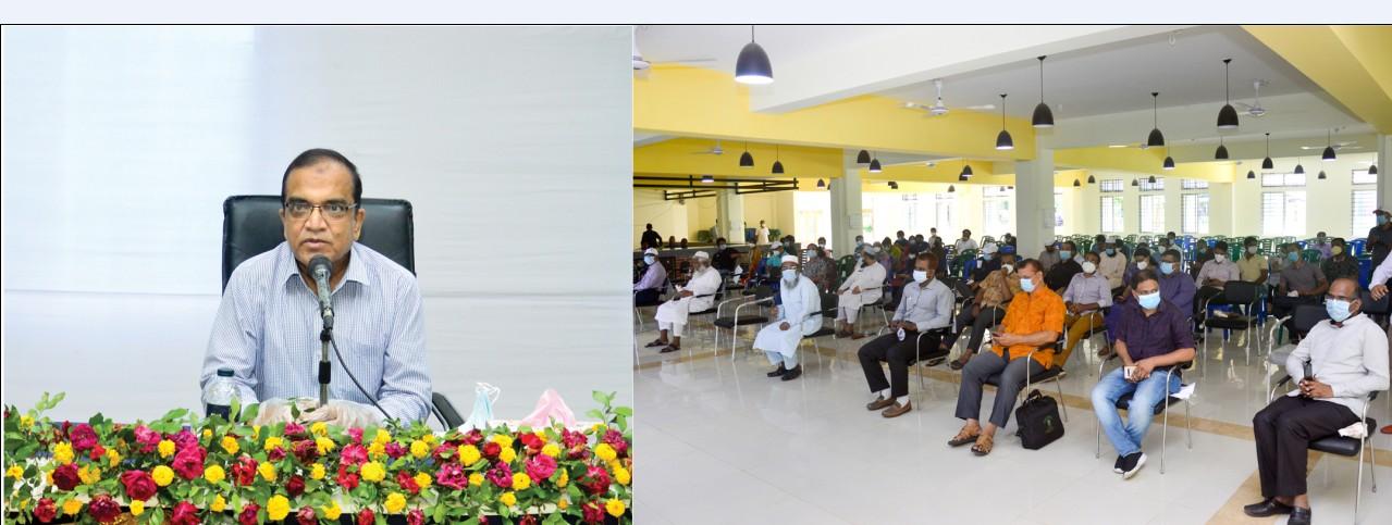 আগামি ৪ বছরে চুয়েটকে মর্যাদাপূর্ণ বিশ্ববিদ্যালয় হিসেবে গড়তে চাই: চুয়েট ভিসি