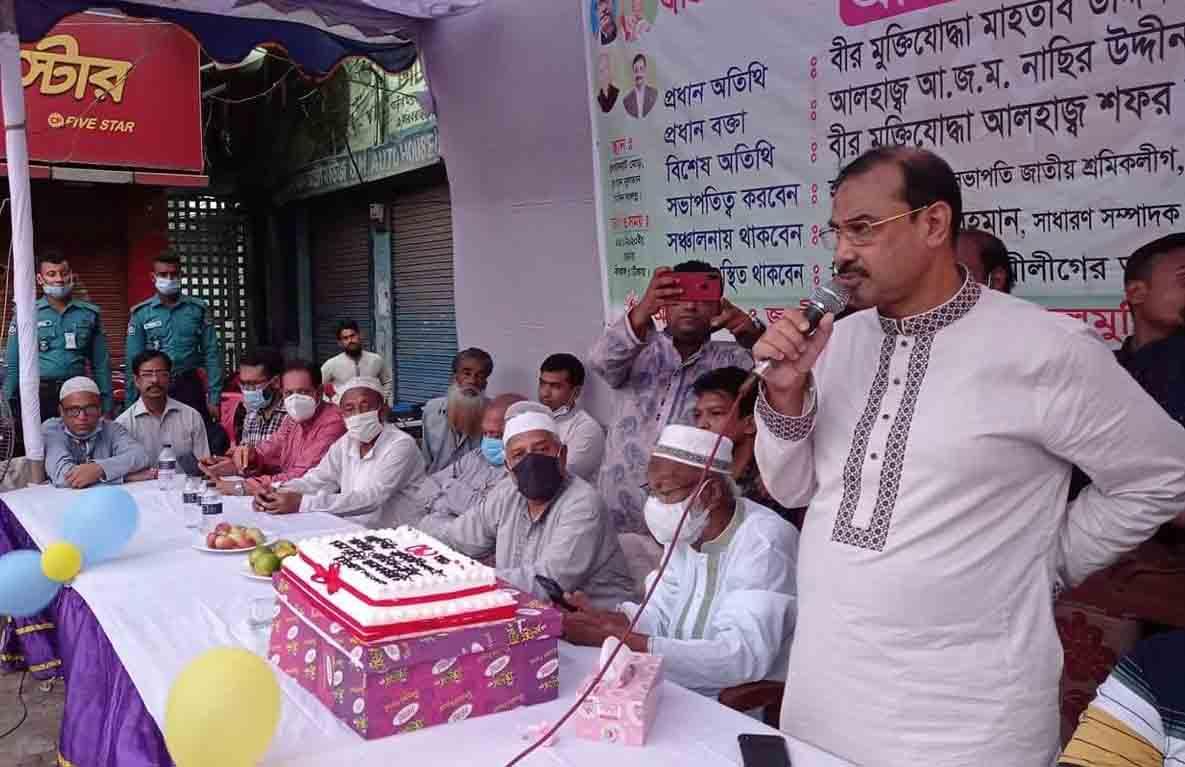 শ্রমিকদের জন্য কল্যাণ তহবিল গঠন করেছে সরকার:আ.জ.ম.নাছির