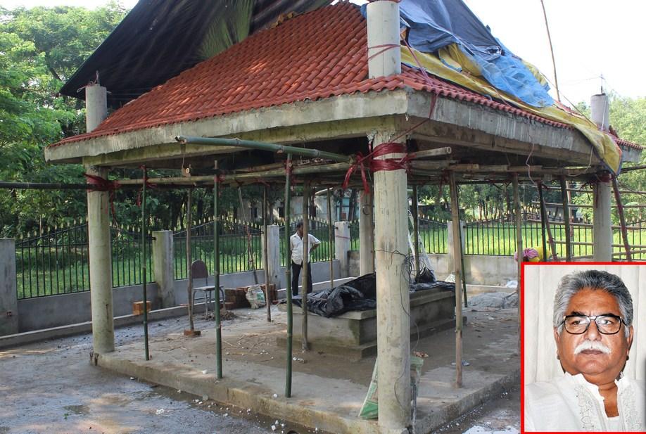 বোয়ালখালীতে অর্ধকোটি টাকা ব্যয়ে নির্মিত হচ্ছে বাদলের সমাধি