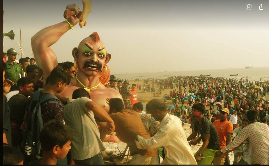 অশুরদের সর্বশক্তি দিয়ে বিনাশ করবো: সজুন