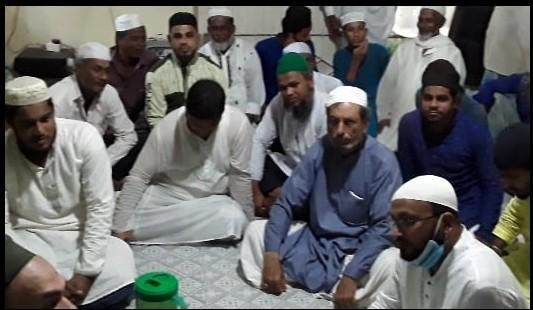 আওলাদে আলী রজা পীর নুরুল আলম শাহ (রহ.) বার্ষিক ইছালে সওয়াব মাহফিল অনুষ্ঠিত