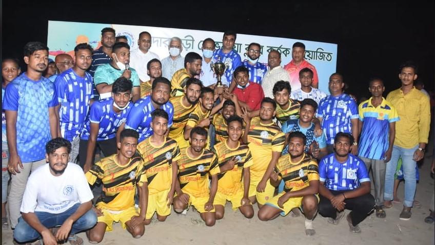 মাদারবাড়ী শোভানীয়া ক্লাব'র ফুটবল ফেস্টিভ্যাল ফাইনাল খেলা অনুষ্ঠিত