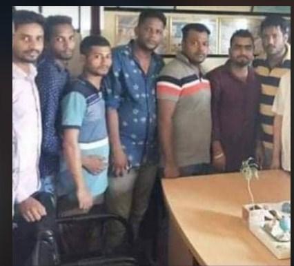কিশোর গ্যাং নেতা হামকা রাজু গ্রেফতার