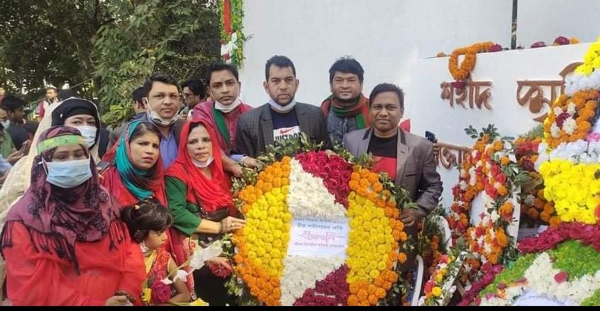 বিজয় দিবসে  চট্টগ্রাম রিপোর্টার্স ইউনিটি'র শ্রদ্ধাঞ্জলী