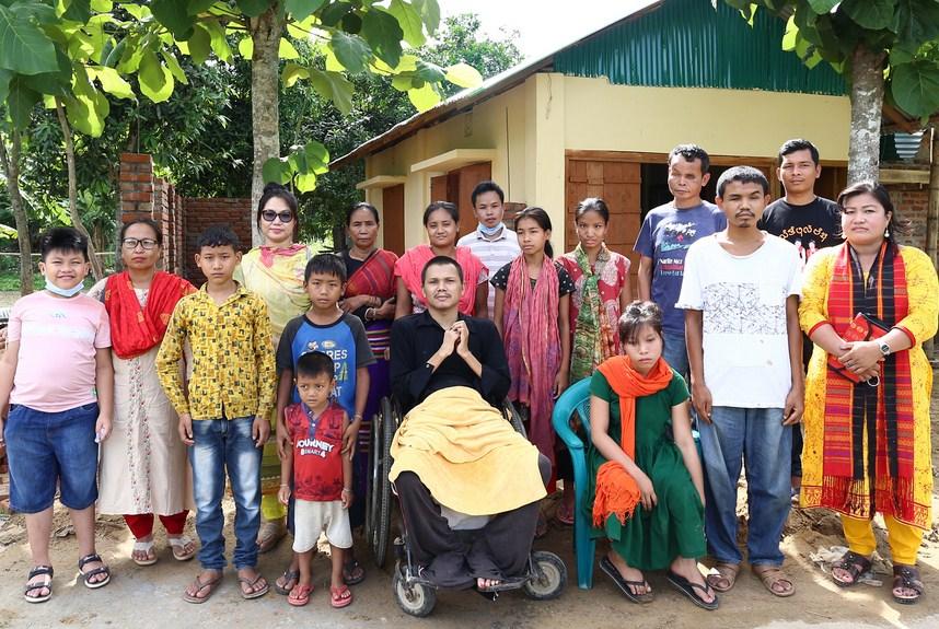 প্রতিবন্ধী কিশোর চাকমার 'স্বপ্ন প্রতিবন্ধী আশ্রম'