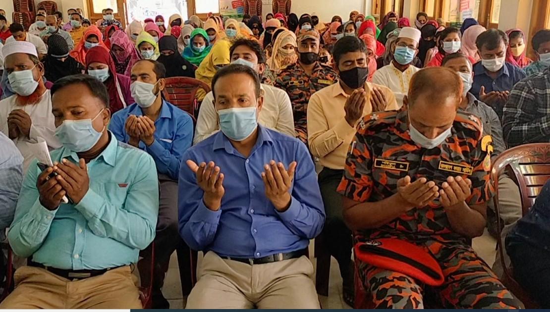 শার্শা উপজেলায় ২৫ মার্চ উপলক্ষে দোয়া মাহফিল
