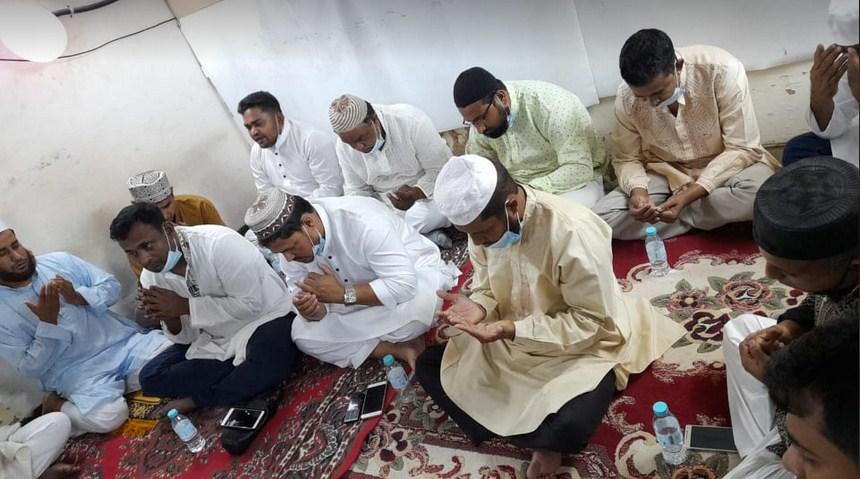 সৌদিতে চট্টগ্রাম দাম্মাম যুবদলের দোয়া মাহফিল