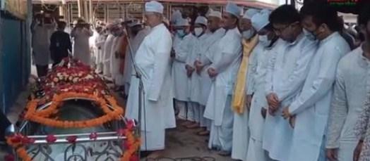 মাওলানা সৈয়দ সমসুদ্দোহা মাইজভান্ডারী (ক:) চিরনিদ্রায়