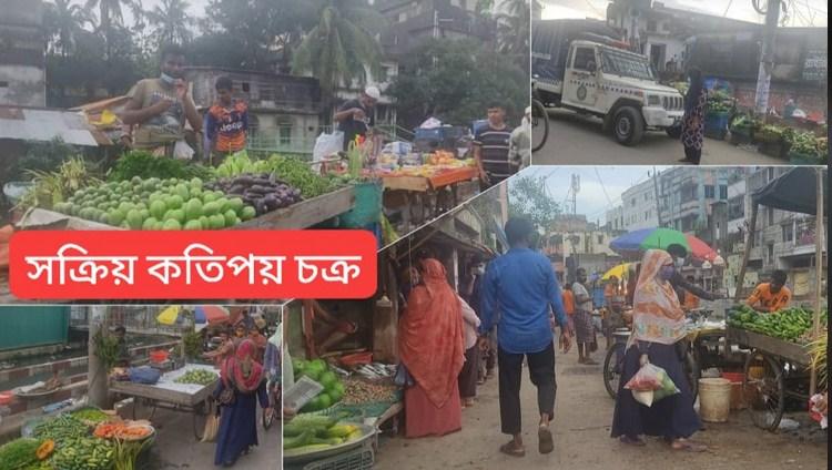 চকবাজারে অবৈধ বাজার, 'কর্তৃপক্ষকে বারবার বৃদ্ধাঙ্গুলি'