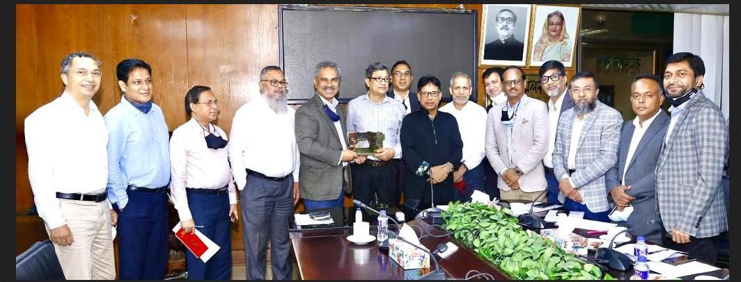 পোশাক শিল্পে কাষ্টমস, ভ্যাট ও আয়কর সংক্রান্ত নীতি সহায়তা প্রদানের জন্য জাতীয় রাজস্ব বোর্ডকে বিজিএমইএ'র অনুরোধ